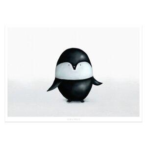 """Poster - Bild mit Pinguin """"Karl"""" - Dori´s Prints"""