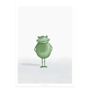 "Poster - Bild mit Frosch ""Gigo"" - Dori´s Prints"