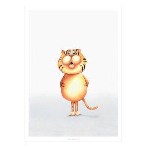 """Poster - Bild mit Tiger """"Giovanni"""" Safari Motiv - Dori´s Prints"""