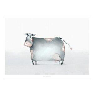 "Poster - Bild mit Kuh ""Mathilde"" - Dori´s Prints"