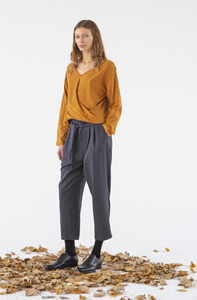 Stoffhose - Keira Pants - Antracite  - Suite 13