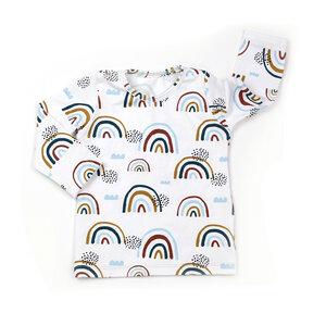 """BIO Langarmshirt """"Rainbow"""" - Sternchenwolke"""