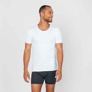 Jonas- t-shirt aus 90% Modal und 10% Elastan - erlich textil