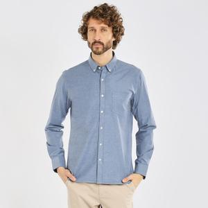 Oxford-Hemd - Stretched oxford shirt - GOTS/Vegan - KnowledgeCotton Apparel
