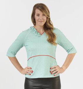 Damen Langarmshirt Kaitlyn - number K