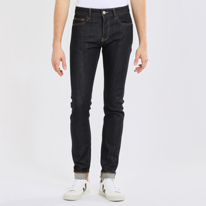 Selvedge Jeans Slim tapered - Ash raw blue  - KnowledgeCotton Apparel