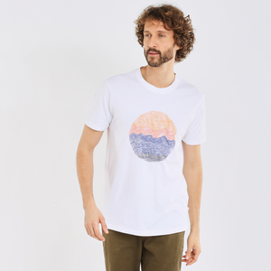T-shirt - ALDER wave tee - KnowledgeCotton Apparel