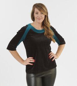 Damen Langarmshirt Krystal - number K