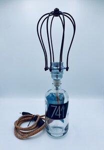 741 Gin Designlampe - Upcycling Lights - 741 Gin