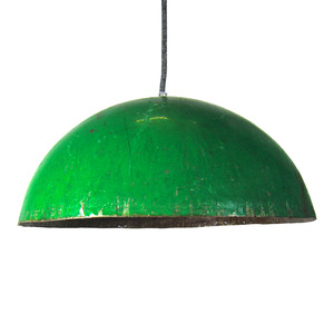 Upcycling Deckenlampe - Ölfass Gelb/Orange/Blau/Rot - L/XL - SWANE-Design