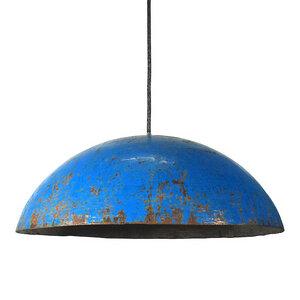 Upcycling Deckenlampe - Ölfass Gelb/Orange/Blau/Rot - L/XL - SWANE-Design