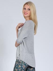Yoga Shirt SARA Grey aus weichem Naturmaterial - Magadi