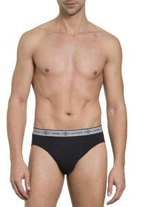Herren Slip ohne Eingriff Single Jersey 3er Pack,Bio Baumwolle/Elasthan - Haasis Bodywear