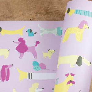 Geschenkpapier Dogs - Bow & Hummingbird