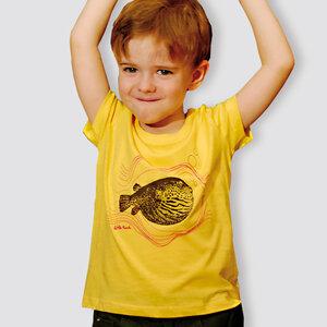"""Kinder T-Shirt, """"Kugelfisch"""" - little kiwi"""
