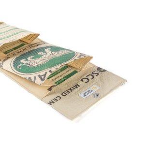 Wandtasche Munny mit 3 Fächern aus Zement-/ Fischfutter-/ Reissack - Upcycling Deluxe