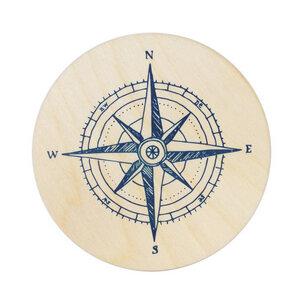 Untersetzer Kompass - Bow & Hummingbird