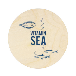 Untersetzer Vitamin Sea - Bow & Hummingbird