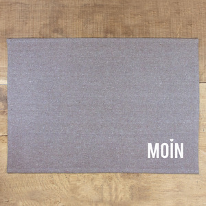 Tischset Moin - Bow & Hummingbird