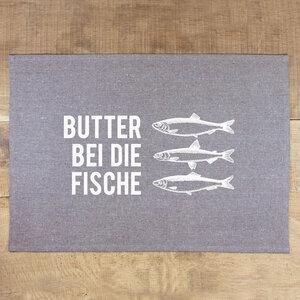 Tischset Butter bei die Fische - Bow & Hummingbird