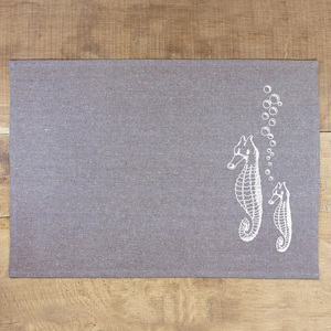 Tischset Seepferdchen - Bow & Hummingbird