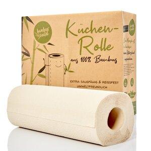 Küchenrollen / Küchenpapier aus 100% Bambus | á 80 Blatt - 2 lagig  - Bambuswald
