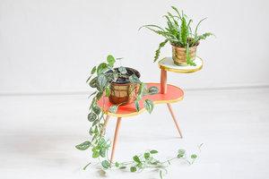 Blumentisch für Pflanzen im 60er Jahre Design - Mighty Home