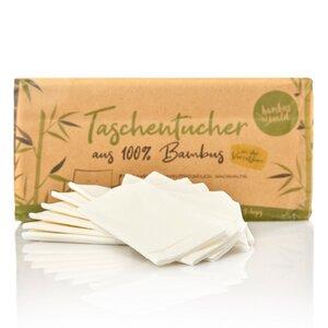 Großpackung Taschentücher / Papiertaschentücher aus 100% Bambus - Bambuswald