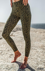LEGGINGS LEO OLIVE - OGNX