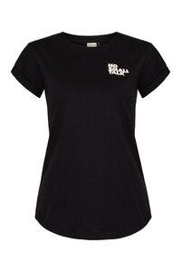 no small talk Organic Women Shirt _ black/white / ILK02 - ilovemixtapes