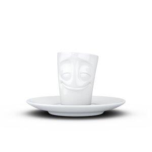 Espresso Mug mit Henkel 80ml - Vergnügt - FIFTYEIGHT PRODUCTS