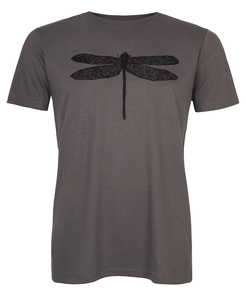 Libelle Organic Men Shirt _ dark grey / ILK01 - ilovemixtapes