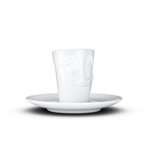 Espresso Tasse mit Henkel 80ml - Lecker - FIFTYEIGHT PRODUCTS