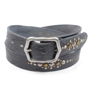 Damen Vintage Ledergürtel Thorvi - zweisser