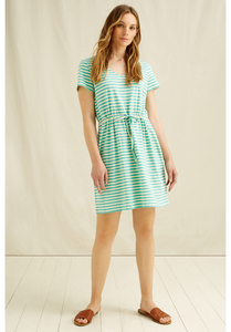 Streifen Kleid - Ashby Stripe Dress - People Tree