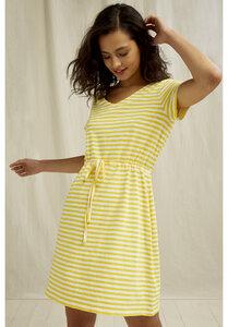 Streifen Kleid - Ashby Stripe Dress - People Tree