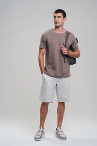 Hanf T-Shirt #POCKET braun - recolution