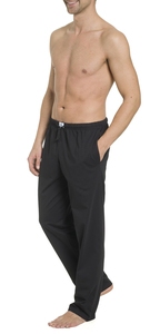 Herren Pyjamahose lang mit Seitentaschen, Single Jersey, reine Baumwolle - Haasis Bodywear