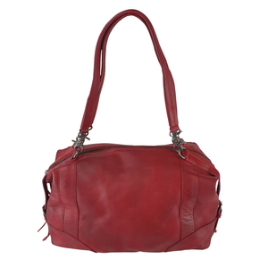 SCHULTERTASCHE-BOWLING BAG MERYL Leder - manbefair