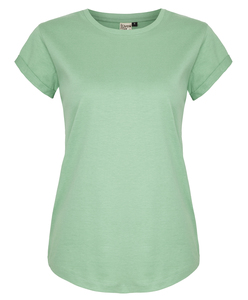 Organic Women Basic T-Shirt ILK02 diverse Farben - ilovemixtapes