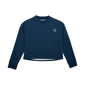 Beleaf – Frauen Short Sweater – Dark Blue - dressgoat