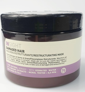 Damaged Hair/ Maske gegen Strapaziertes Haar - Insight