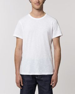 Sehr leichtes Basic T-Shirt Herren aus  Bio-Baumwolle mit Slub Optik - YTWOO
