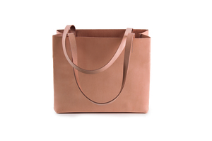 Leather paperbag small - Harold's