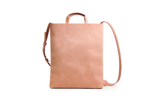 Leather paperbag with belt - Harold's