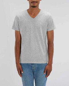 Männer Bio T-Shirt mit V-Ausschnitt, versch. Farben meliert - YTWOO