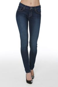 Amber High-Stretch-Denim Jeans im Slim Fit Schnitt - Wunderwerk