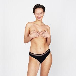 tilla - panty mit tüll aus 90% Modal, 10% Elasthan. Tüll: 87% Q-nova® (recyceltes PA), 13% Elasthan - erlich textil