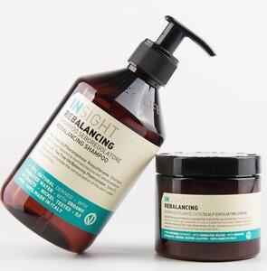 Rebalancing/Talgregulierendes Shampoo 400ml+ Peeling-Creme 180ml - Insight