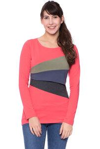 KYRA Shirt langarm aus Bio Baumwolle - Milchshake